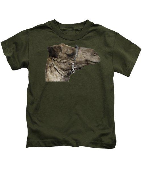 Camel's Head Kids T-Shirt by Roy Pedersen