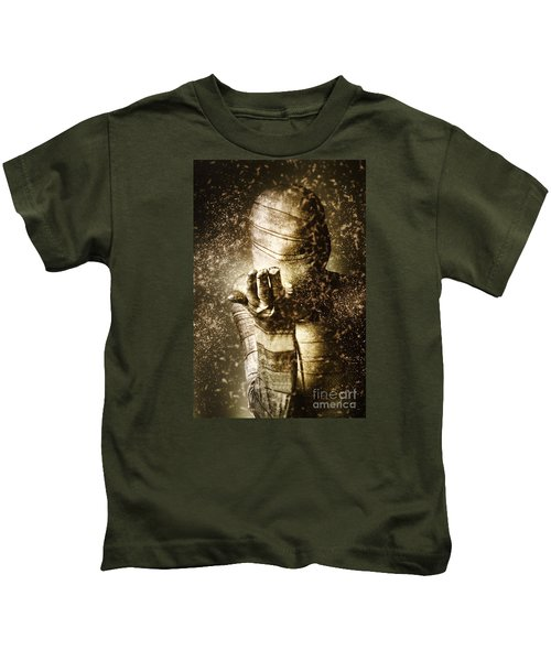 Curse Of The Mummy Kids T-Shirt by Jorgo Photography - Wall Art Gallery