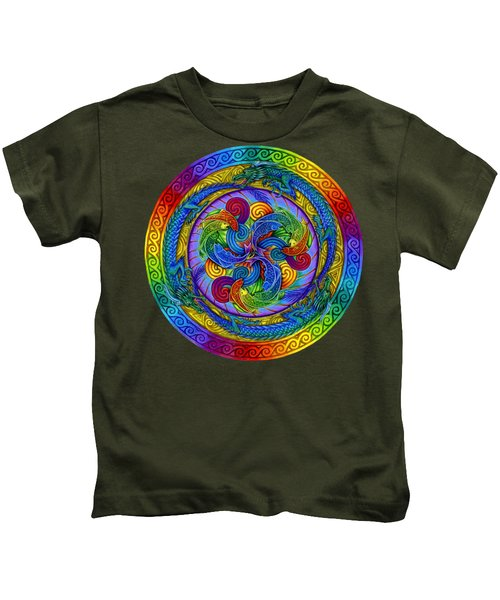 Epiphany Kids T-Shirt by Rebecca Wang