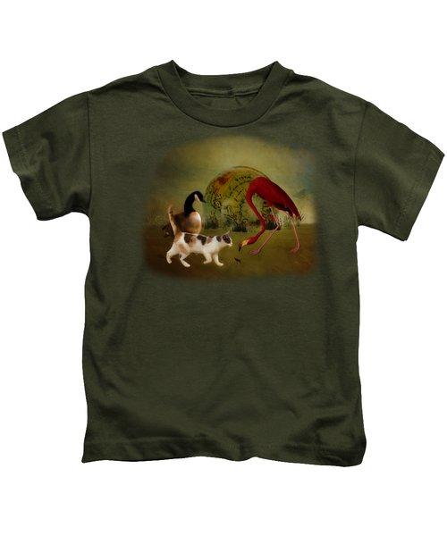Global Initiative Kids T-Shirt by Terry Fleckney