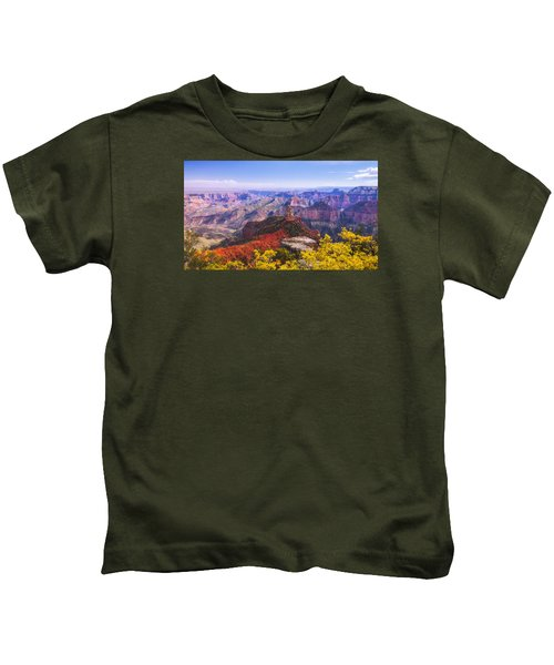 Grand Arizona Kids T-Shirt by Chad Dutson