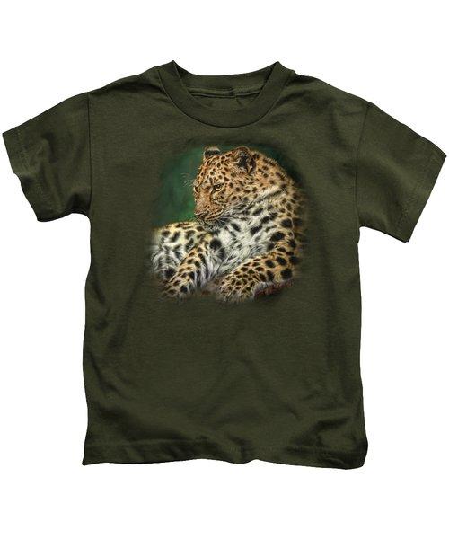 I'm Watching Kids T-Shirt by Sandy Oman
