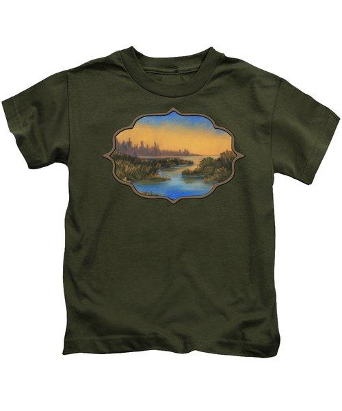 In The Distance Kids T-Shirt by Anastasiya Malakhova