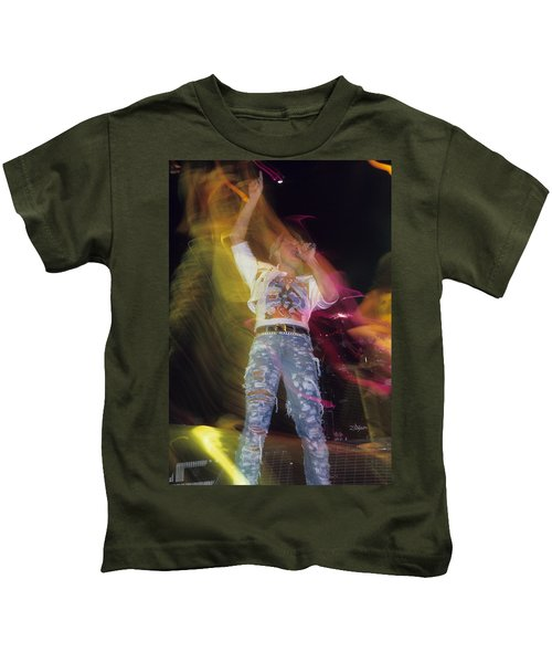 Joe Elliott Kids T-Shirt by Rich Fuscia