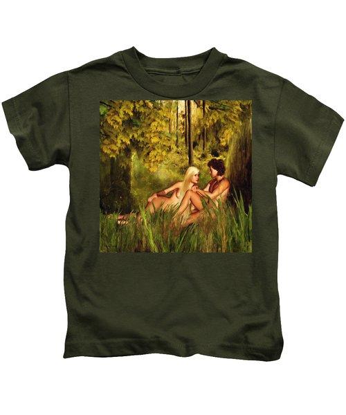 Pre-consciousness Kids T-Shirt by Lourry Legarde