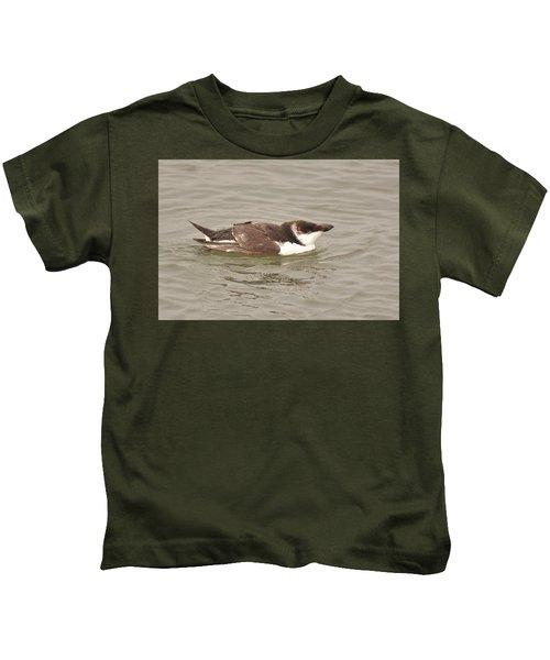 Razorbill Kids T-Shirt by Alan Lenk