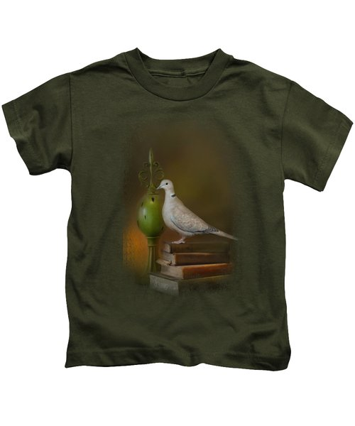Read Me A Story Kids T-Shirt by Jai Johnson