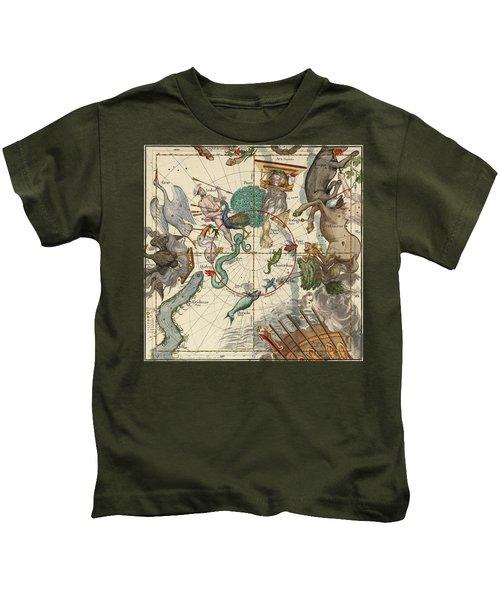 South Pole Kids T-Shirt by Ignace-Gaston Pardies