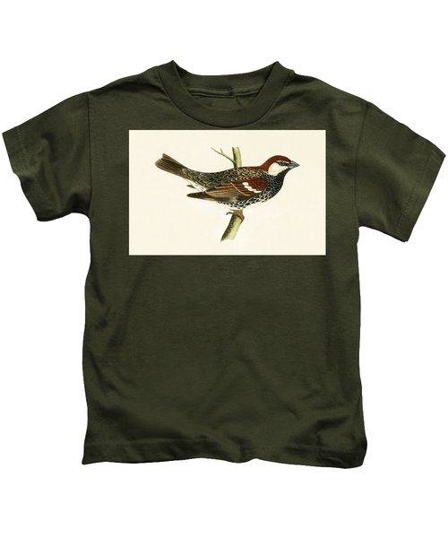 Spanish Sparrow Kids T-Shirt by English School