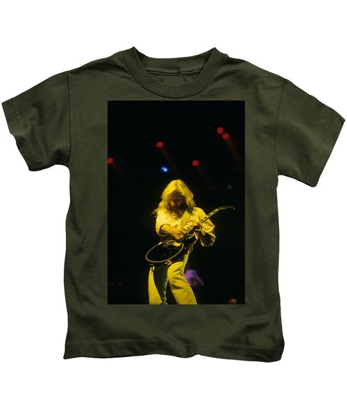 Steve Clark Kids T-Shirt by Rich Fuscia