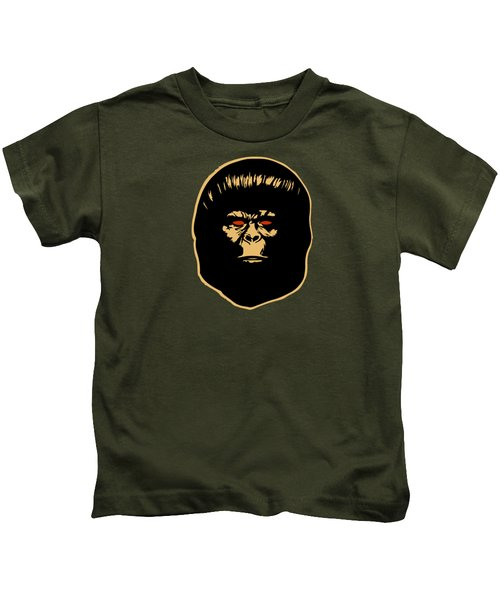 The Ape Kids T-Shirt by Jurgen Rivera