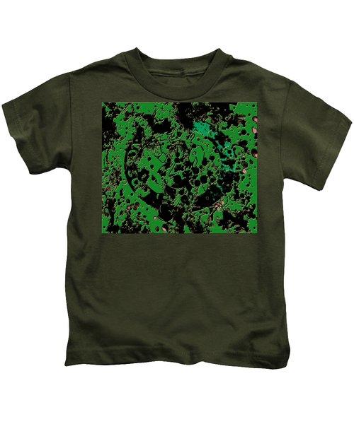 The Boston Celtics 6c Kids T-Shirt by Brian Reaves
