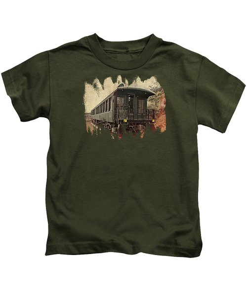 Virginia City Pullman Kids T-Shirt by Thom Zehrfeld