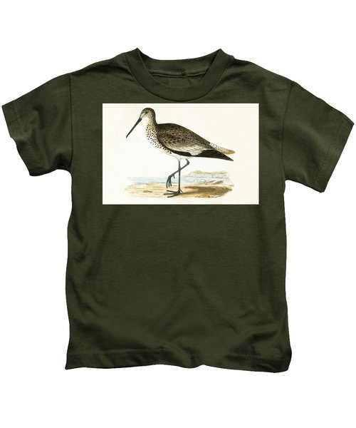 Willet Kids T-Shirt by English School