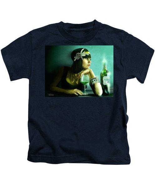 Absinthe Kids T-Shirt by Jason Longstreet