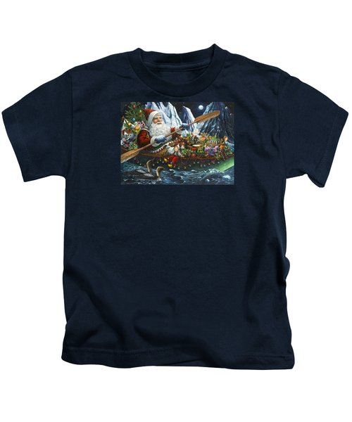 Northern Passage Kids T-Shirt by Lynn Bywaters