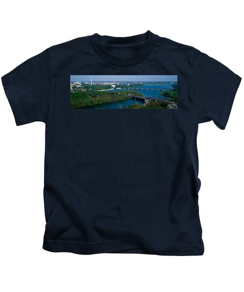 This Is An Aerial View Of Washington Kids T-Shirt by Panoramic Images