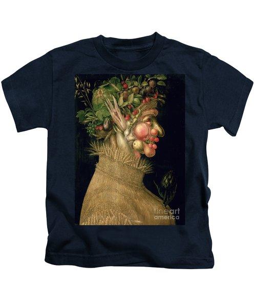 Summer Kids T-Shirt by Giuseppe Arcimboldo