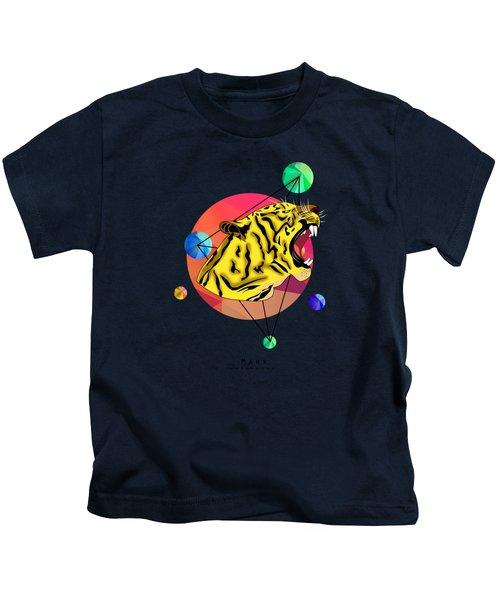 Tiger  Kids T-Shirt by Mark Ashkenazi