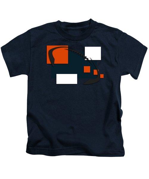 Bears Abstract Shirt Kids T-Shirt by Joe Hamilton