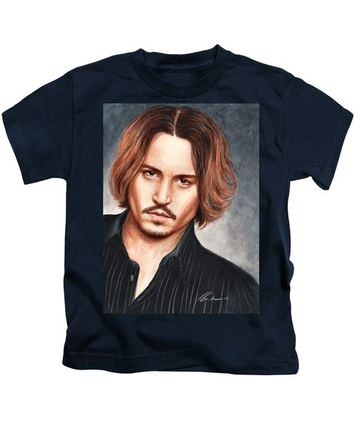 Depp Kids T-Shirt by Bruce Lennon