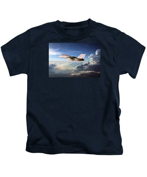 Diamonds In The Sky Kids T-Shirt by Peter Chilelli