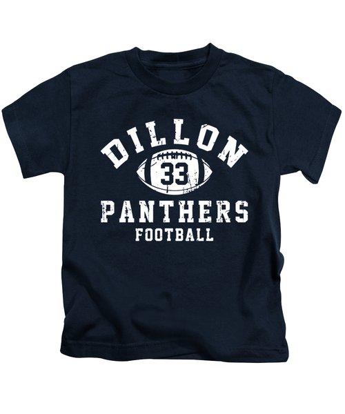 Dillon Panthers Football Kids T-Shirt by Pendi Kere