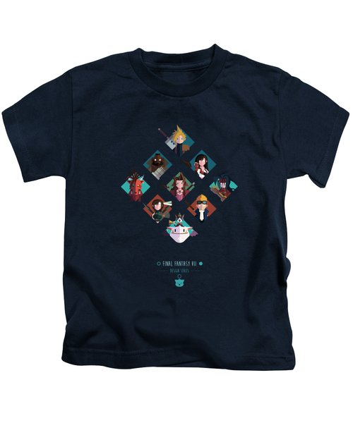Ff Design Series Kids T-Shirt by Michael Myers