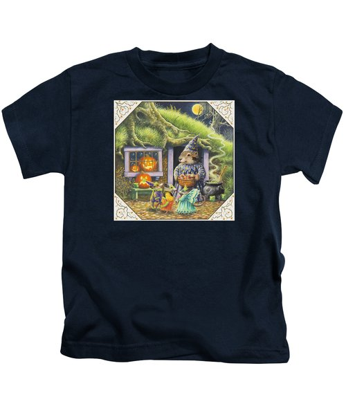 Halloween Costumes Kids T-Shirt by Lynn Bywaters