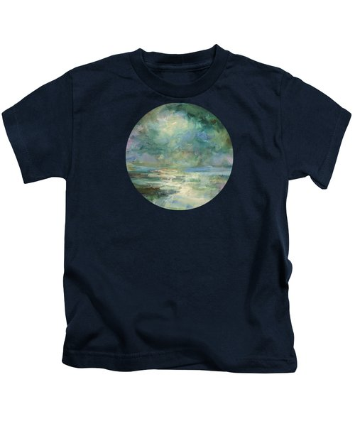 Into The Light Kids T-Shirt by Mary Wolf