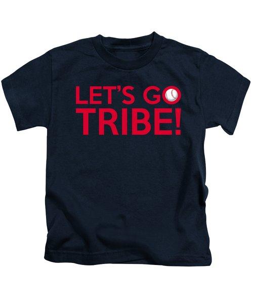 Let's Go Tribe Kids T-Shirt by Florian Rodarte