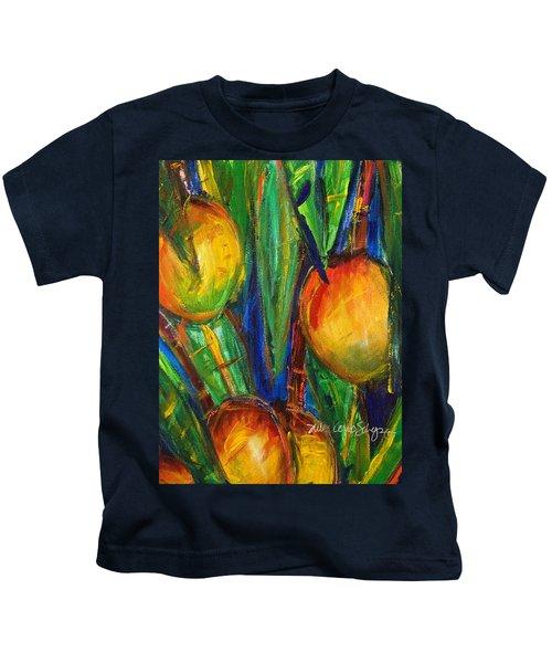 Mango Tree Kids T-Shirt by Julie Kerns Schaper - Printscapes