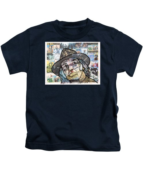 Monsanto Fears Kids T-Shirt by Steven Hart