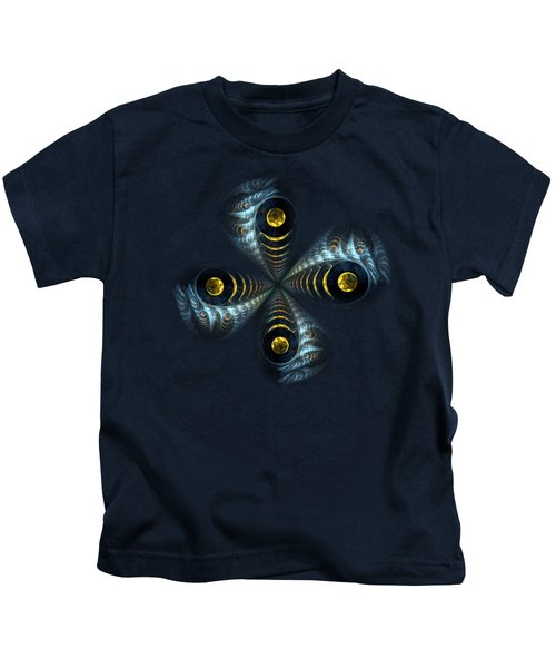 Moon Cross Kids T-Shirt by Anastasiya Malakhova