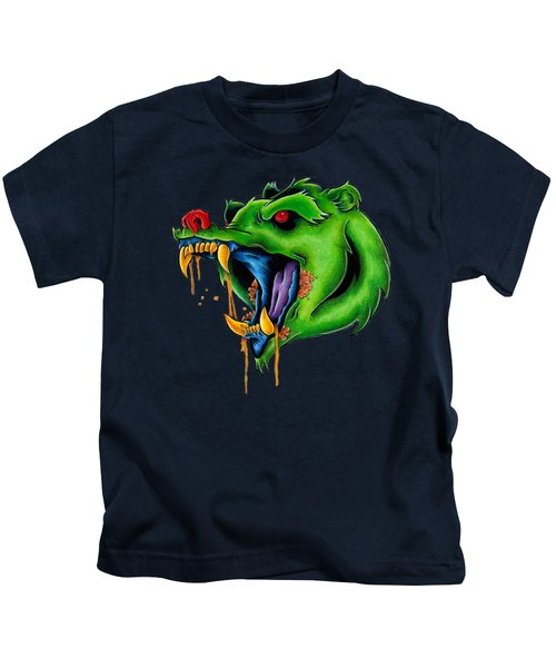 Not Yo Mama's Gummy Bear Kids T-Shirt by Vicki Von Doom