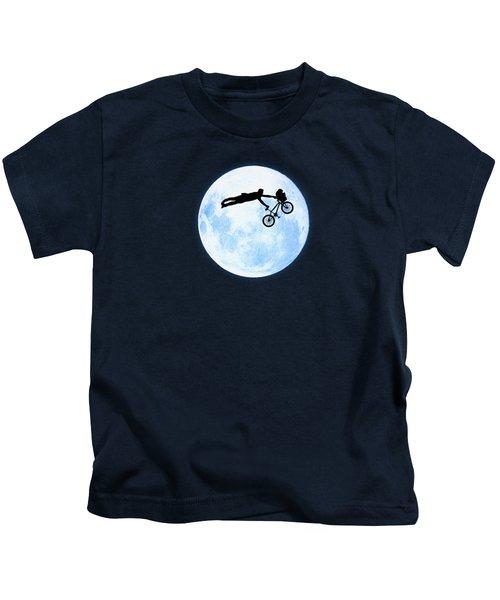 Riding The Kuwahara Bmx Like A Boss Kids T-Shirt by Philipp Rietz