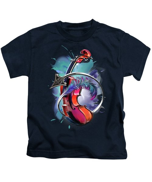 Sagittarius Kids T-Shirt by Melanie D