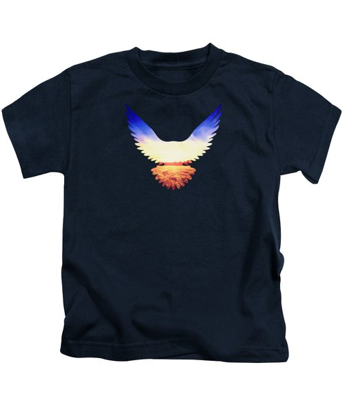 The Wild Wings Kids T-Shirt by Philipp Rietz
