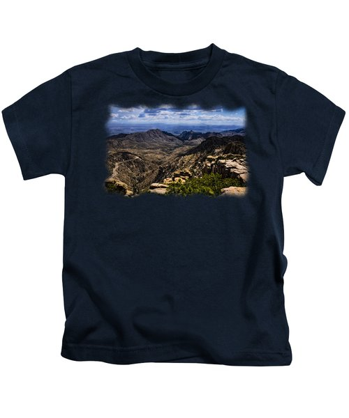 Windy Point No.11 Kids T-Shirt by Mark Myhaver