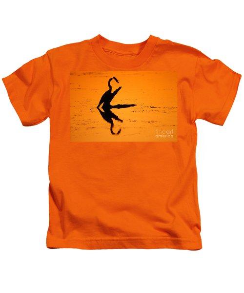Anhinga Kids T-Shirt by Art Wolfe