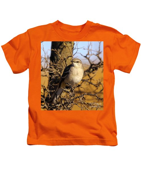 Common Mockingbird Kids T-Shirt by Robert Frederick