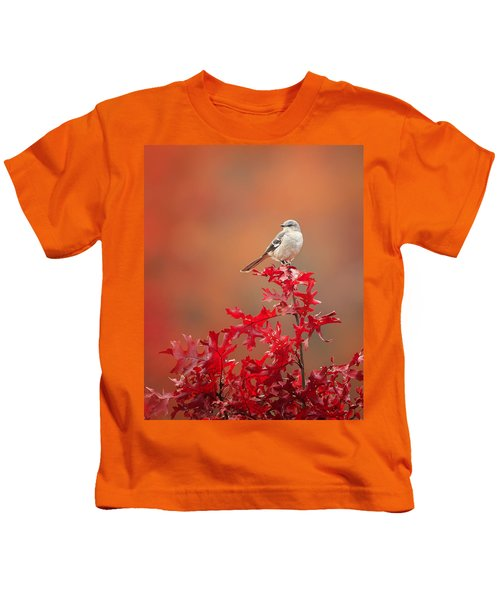 Mockingbird Autumn Kids T-Shirt by Bill Wakeley