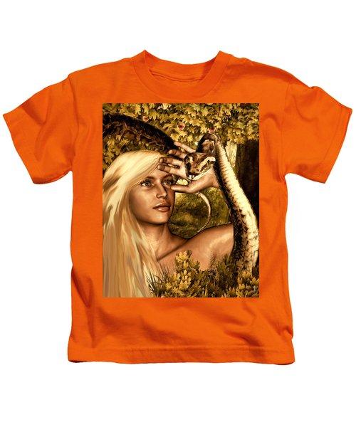 Temptation Kids T-Shirt by Lourry Legarde