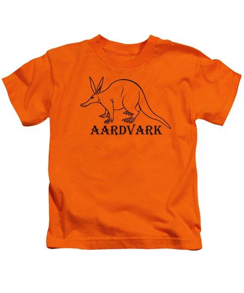 Aardvark Kids T-Shirt by Sarah Greenwell