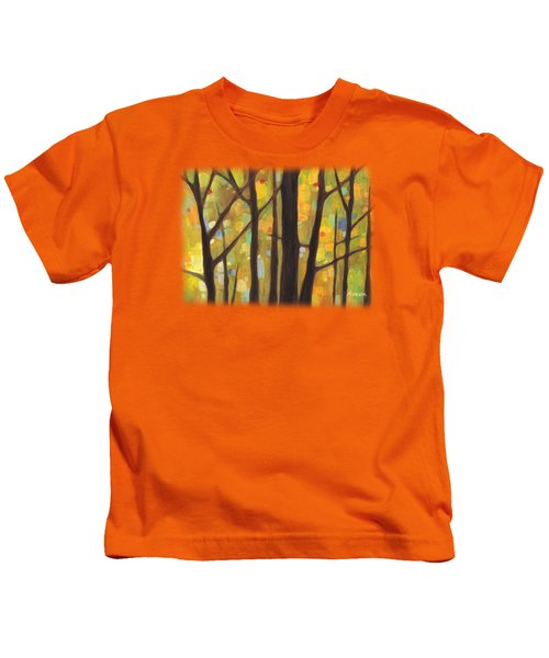 Dreaming Trees 1 Kids T-Shirt by Hailey E Herrera
