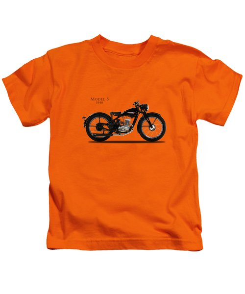 Harley-davidson Model S Kids T-Shirt by Mark Rogan