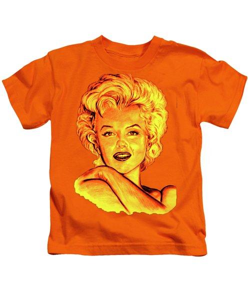 Marilyn Kids T-Shirt by Gitta Glaeser
