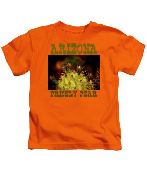 Prickly Pear Spring Kids T-Shirt by Roger Passman