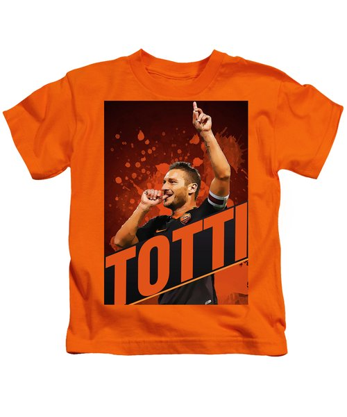 Totti Kids T-Shirt by Semih Yurdabak