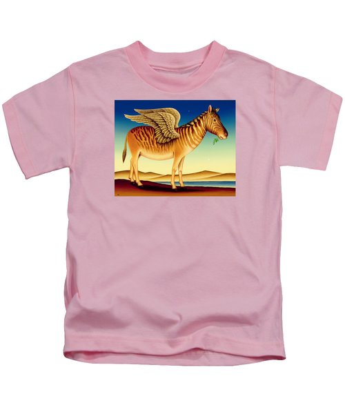 Quagga Kids T-Shirt by Frances Broomfield
